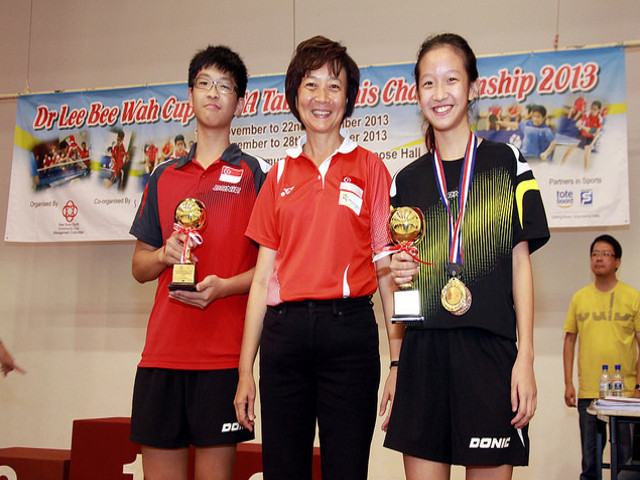 Dr Lee Bee Wah Cup – STTA Table Tennis Championship 2013
