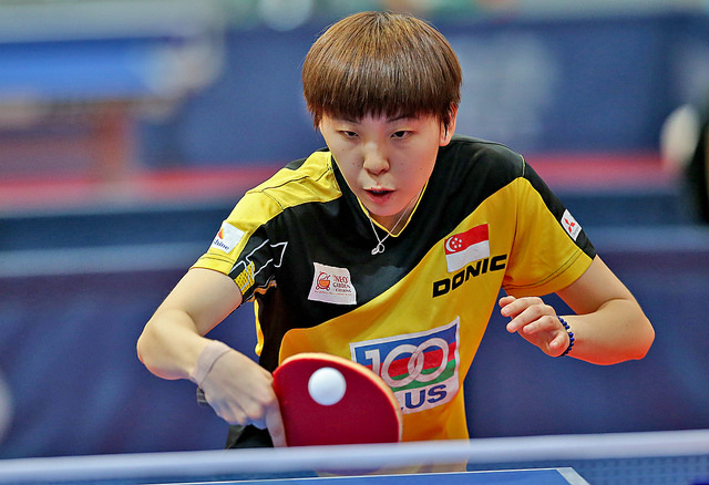 Singapore Scored a Total of 5 Golds, 3 Silvers and 2 Bronzes at the 9th South East Asian Table Tennis Championships 2014