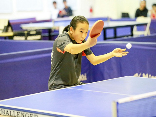 Singapore Paddler Zhou Jingyi adds another title for herself in the 2017 ITTF World Hopes Challenge, 10 to 17 August 2017.