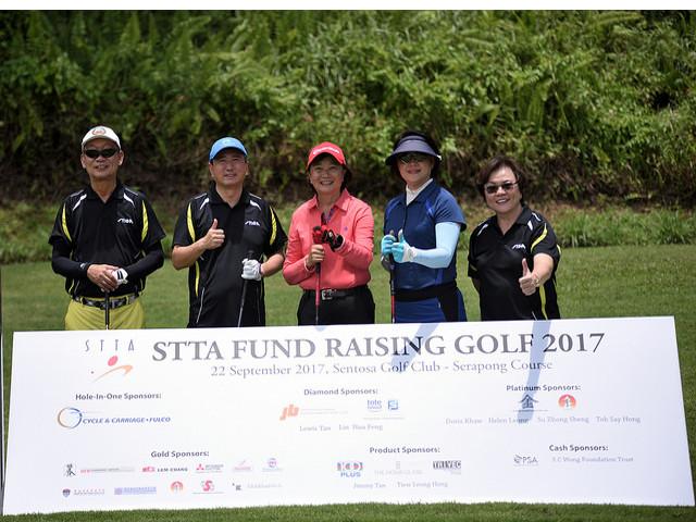 Singapore Table Tennis Association (STTA) Fund Raising Golf Tournament 2017