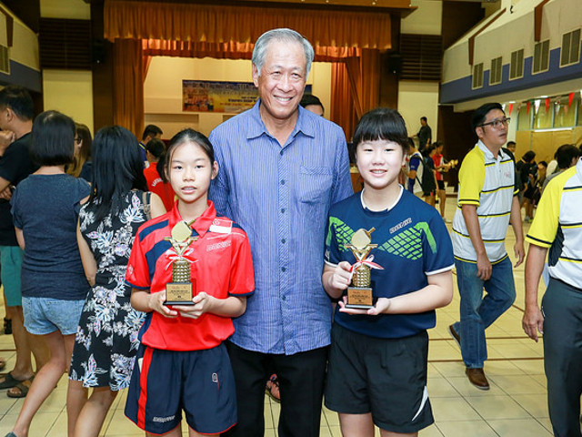 Dr Ng Eng Hen Cup/STTA Table Tennis Championships 2017