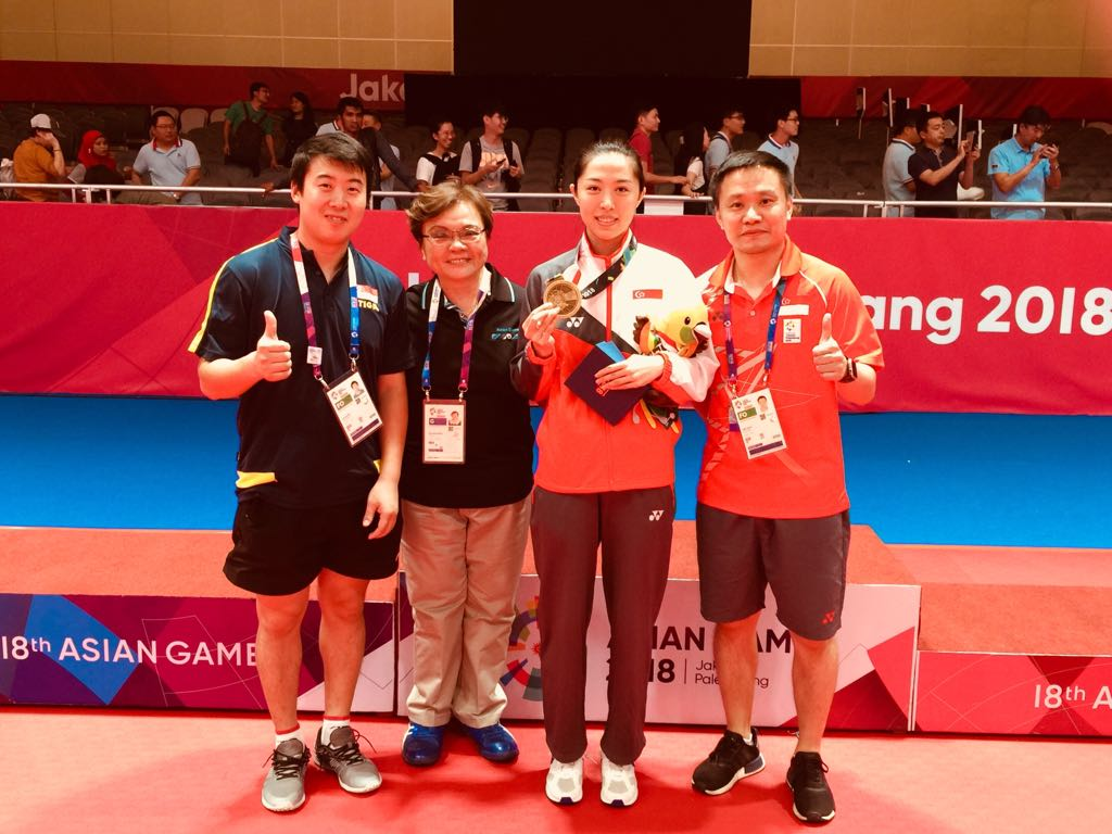 Yu Mengyu Asian Games