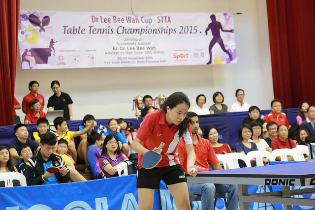 Dr Lee Bee Wah Cup-STTA Table Tennis Championships 2015