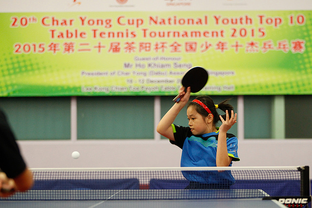 Char Yong National Youth Top 10 Table Tennis Tournament