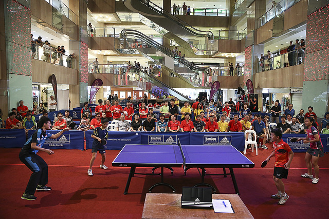 A Passion Table Tennis Club Within Your Neighborhood by 2015
