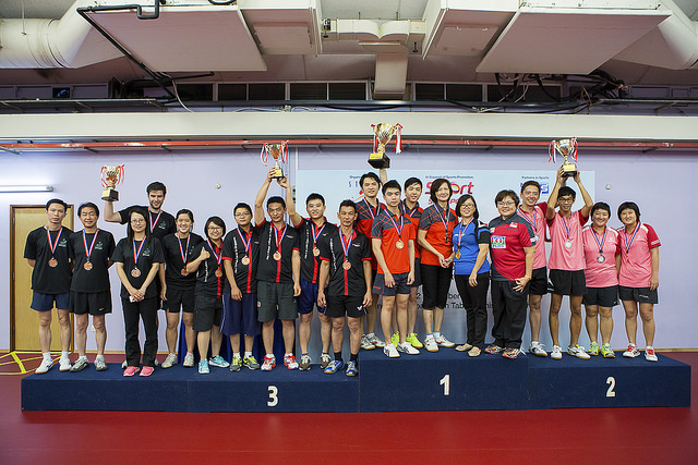 STTA Table Tennis Business League on 2nd November 2014