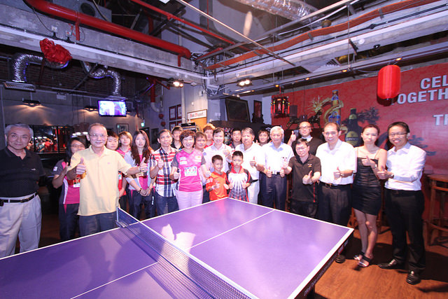 SEA Games Table Tennis Squad Make Special Appearance at the Friends of STTA Gathering