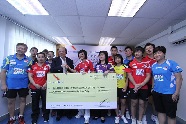 Singapore Table Tennis Association (Stta) Welcomes First Major Sponsor From Indonesia