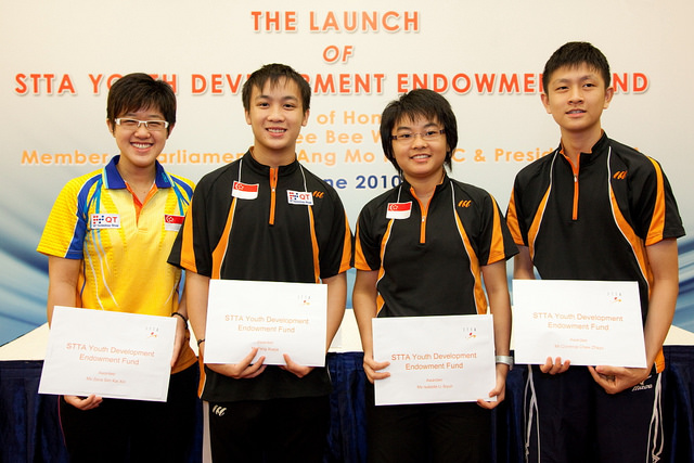 STTA Establishes A Youth Development Endowment Fund For Youth Paddlers