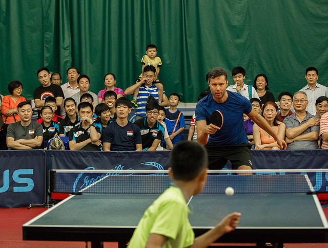 Singapore Paddlers and Juniors to Spar With Legendary Players And Champions Competing In World'S Richest Table Tennis League T2APAC