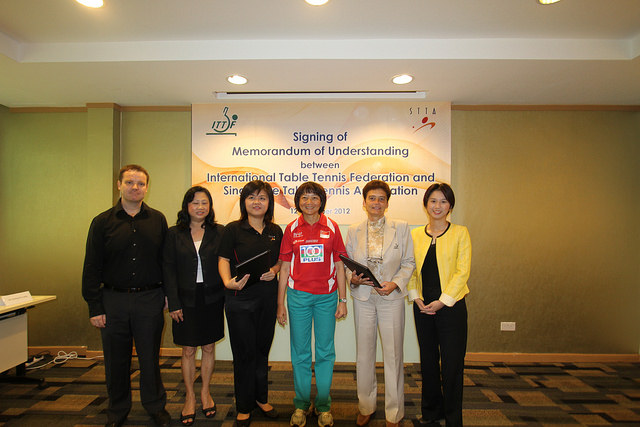 International Table Tennis Federation (ITTF) Together With Singapore Table Tennis Association (STTA) Are Committed To Developing Local Youths Into Champions Of Tomorrow