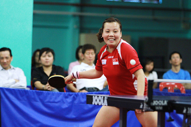 Singapore's Top Paddlers To Star At National Table Tennis Grand Finale 2009-2010