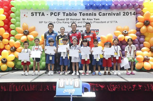 STTA-PCF Table Tennis Carnival 2014