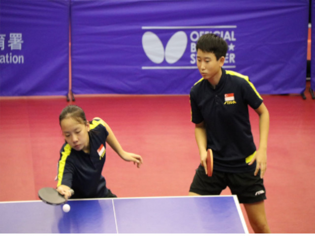 Medals Galore for Singapore Table Tennis