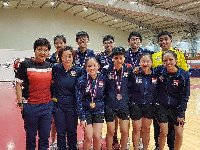 Table Tennis:  Paddlers finished with 2 golds, 1 silver and 4 bronzes at the 2018 Serbian Junior & Cadet Open – ITTF Junior Circuit, 19 to 23 September 2018