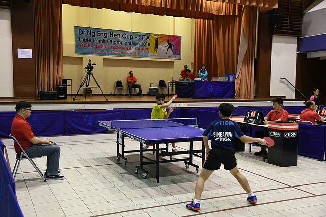 Dr Ng Eng Hen Cup- STTA Table Tennis Championships