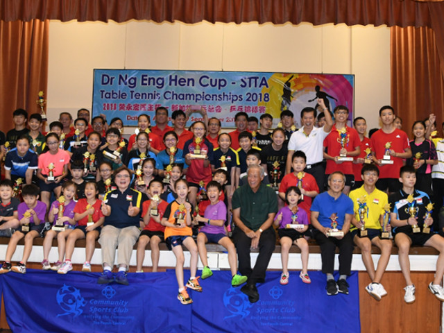 12 Years old, Ser Lin Qian wins big at the Dr Ng Eng Hen Cup/ STTA Table Tennis Championships 2018, 31 August to 9 September 2018