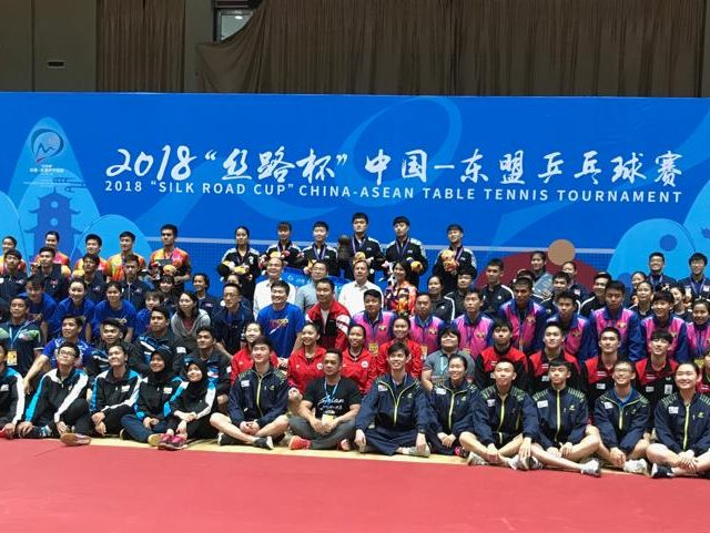 Table Tennis:  Youth Paddlers finished 3rd at the 2018 Silk Road Cup China- Asean Table Tennis Tournament, Jingxi China, 27 to 28 October 2018