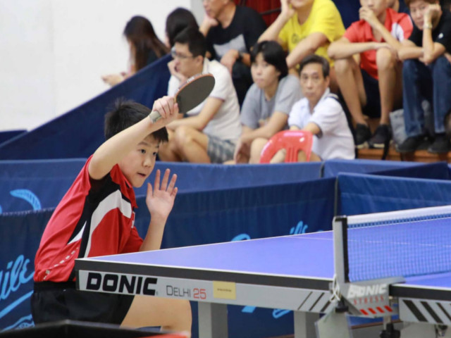 Dr Lee Bee Wah Cup- Singapore Table Tennis Association (STTA) Table Tennis Championships 2018