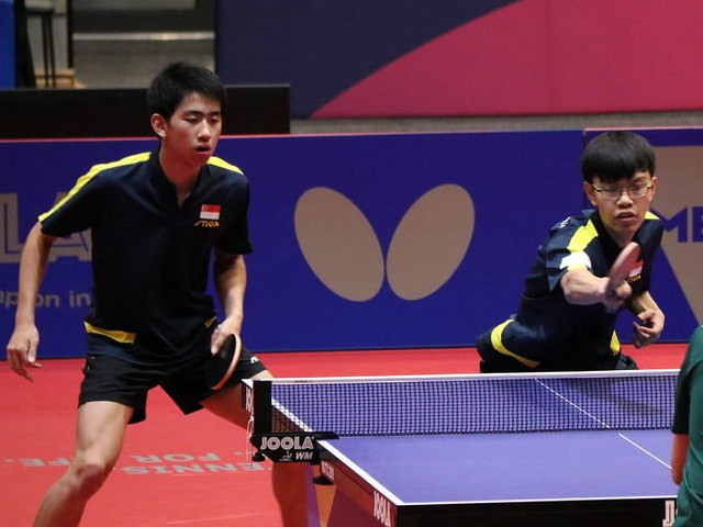 Next Generation:  4 of the best talents will be promoted to the National Table Tennis Team.