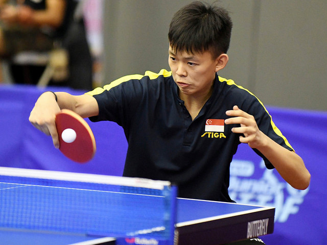 Dominic Koh Song Jun and Jassy Tan Li Lin are promoted to the STTA Intermediate Squad (IS).