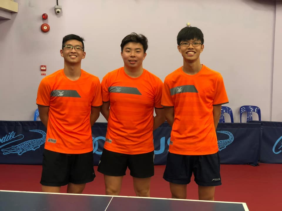 Team Results for STTA National Table Tennis Grand Finale, 4th to 13th January 2019