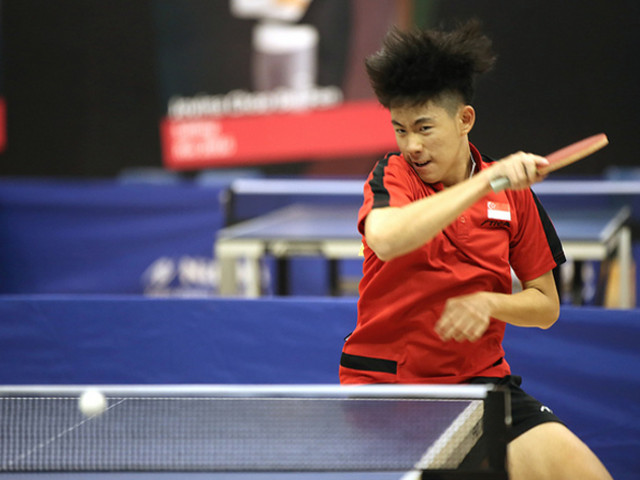 4th Singapore Junior & Hopes Invitational Table Tennis Tournament, 28 to 31 March 2019
