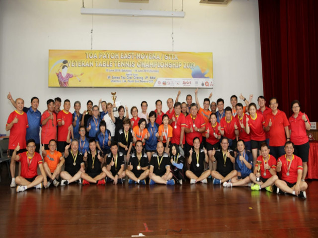 [RESULTS] TOA PAYOH EAST-NOVENA/ STTA VETERAN TABLE TENNIS CHAMPIONSHIP 2019