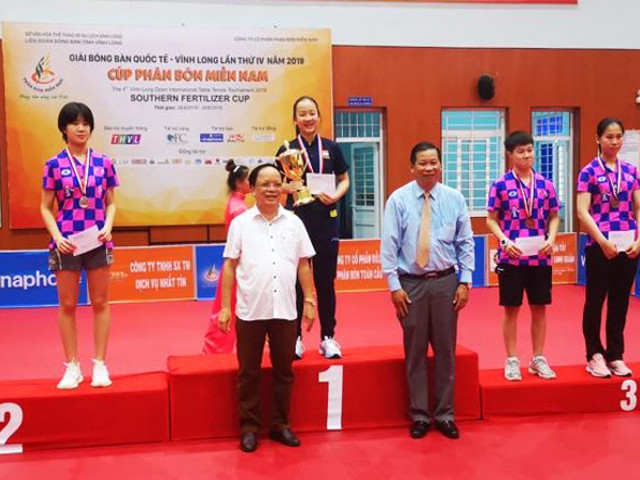 4th Open International Table Tennis tournament, Vinh Long, Vietnam, 27 June to 1 July 2019 [RESULTS]