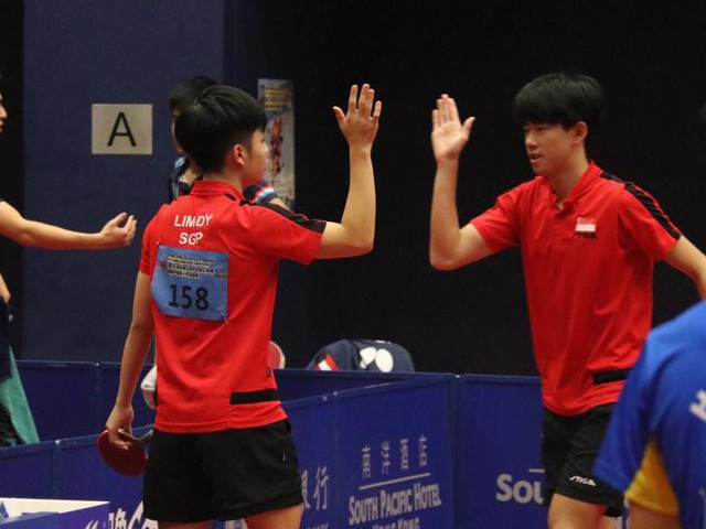 Team Singapore finished with 1 team gold, 1 singles silver and 4 bronzes at the 2019 ITTF Junior Circuit Golden, Hang Seng Hong Kong Junior & Cadet Open (7 to 11 August 2019)