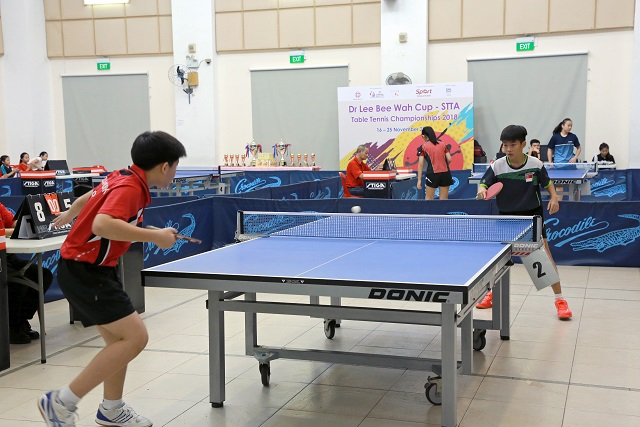 Dr Lee Bee Wah Cup – STTA Table Tennis Championships