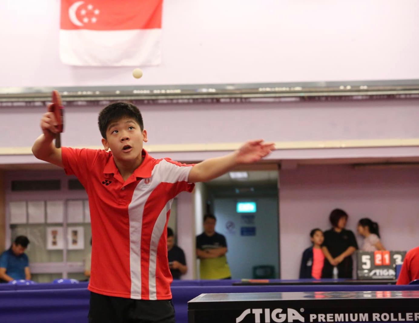 Dr Lee Bee Wah Cup- Singapore Table Tennis Association (STTA) Table Tennis Championships 2019
