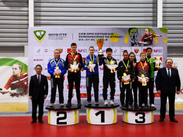 Congratulations to TeamSG Paddlers- Izaac Quek, Ser Linqian and Zhou Jingyi, for making Singapore proud at the 2019 ITTF World Cadet Challenge, 26 to 31 October