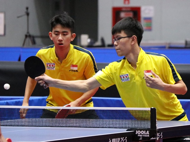 Table Tennis: Singapore paddlers bags Republic's first-ever bronze medal at the 2019 ITTF World Junior Table Tennis Championships, 24 November to 1 December 2019, Korat Thailand