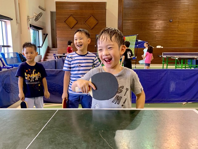 Due to the overwhelming response, the STTA will be organising more June Holidays Table Tennis Camps