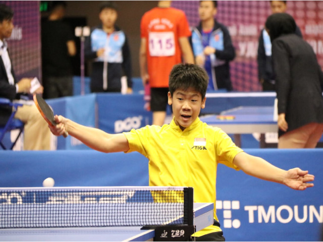 Table Tennis: Izaac Quek scored his first Cadet Singles title at the ITTF World Junior Circuit, Swedish Junior & Cadet Open, 19 to 23 February 2020