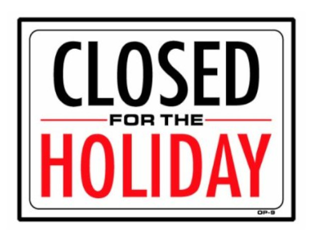 We will be closed during the CNY Holidays