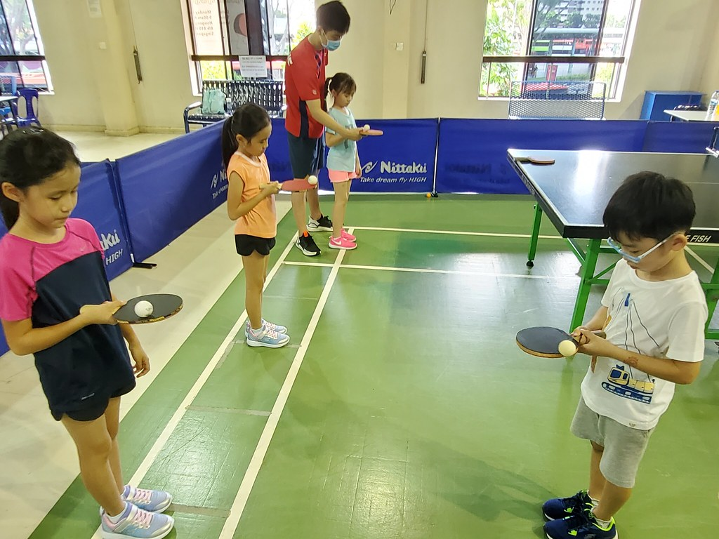 March School Holidays Table Tennis Camp 2021 @Hougang.  Registration is open!