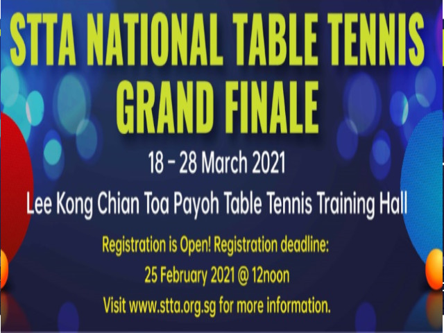 National Table Tennis Grand Finale Master Schedule, Open Draw & Briefing to Players details are out.